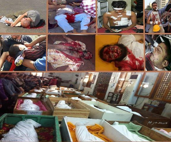 Gambar Rakyat Mesir Terbunuh 3