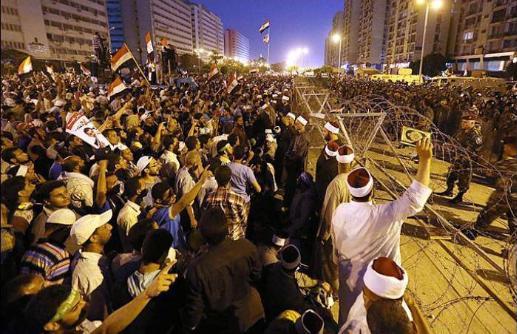 Gambar Rakyat Mesir Terbunuh