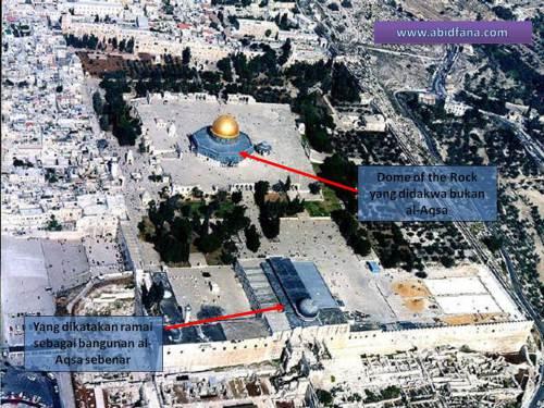 Bangunan Masjid Al-Aqsa Yang Sebenar  4