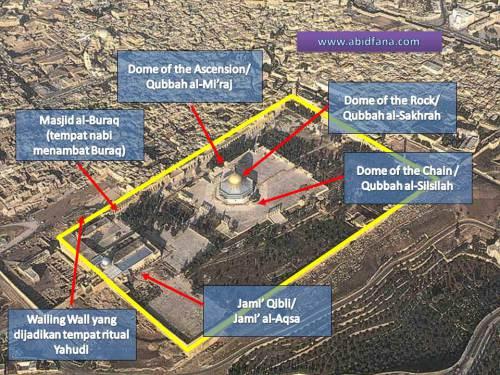 Bangunan Masjid Al-Aqsa Yang Sebenar  6