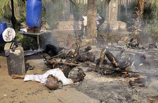 Tiga Mayat Hangus Terbakar Di Mesir