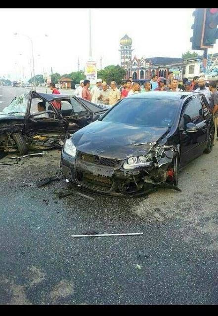 Ustaz Azhar Idrus Kemalangan 3