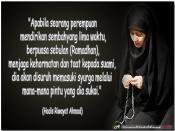 Kasih Allah Pada Wanita Solehah